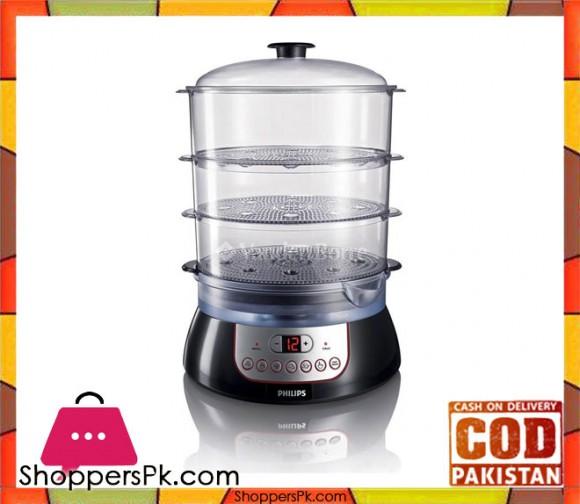 Philips HD9140/91 - Pure Essentials Collection Steamer - 10 L - 900 W (Brand Warranty) - Karachi Only