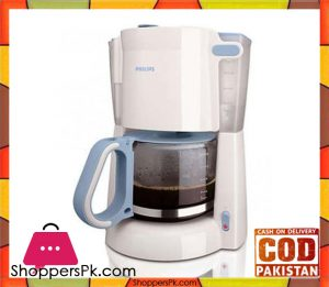 Philips HD7448/70 - Daily Collection Coffee maker - White & Blue (Brand Warranty)