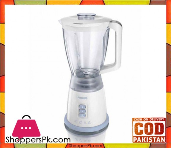 Philips Blender - HR2027/75 - White - Karachi Only