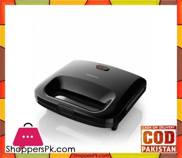 Philips HD2393/92 - Sandwich Maker - Black - Karachi Only