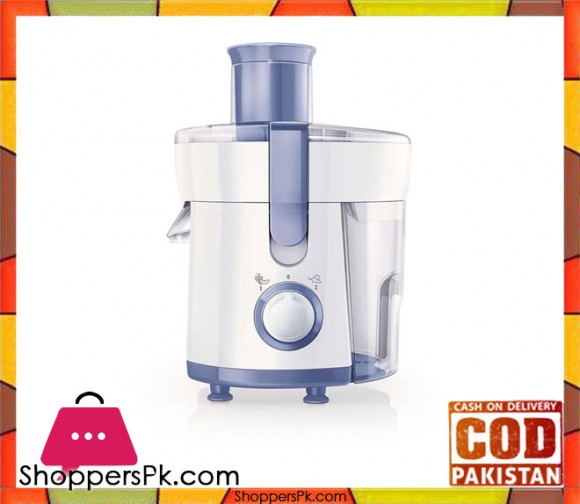 Philips HR1811/71 - Daily Collection Juicer - 0.5 L - 350 W - White (Brand Warranty) - Karachi Only