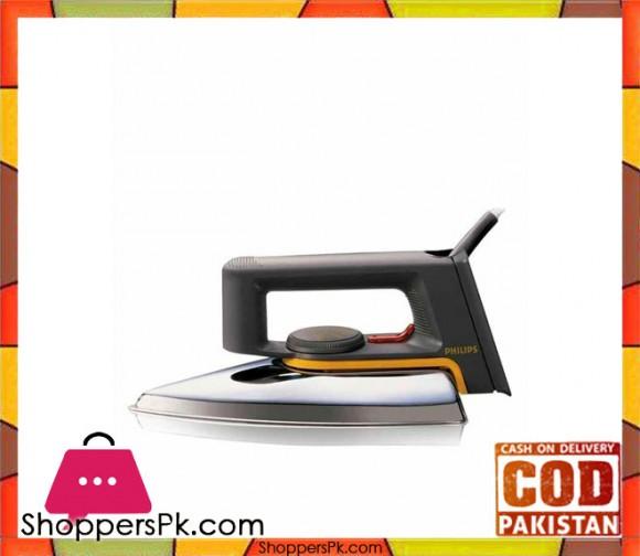 Philips Dry Iron - HD117201 - Black - Karachi Only