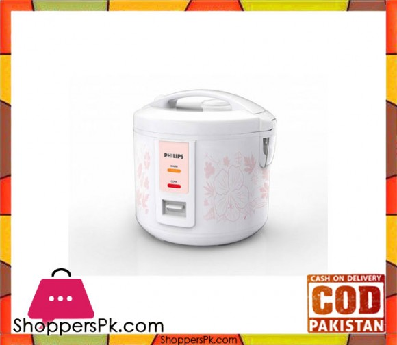 Philips HD3018 - Daily Collection Jar Rice Cooker - 1.8 Ltrs - White (Brand Warranty) - Karachi Only