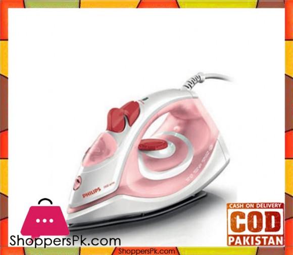 Philips Steam Iron - GC-1990/26 - Pink - Karachi Only