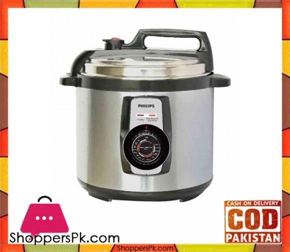 Philips HD2103/65 - 5-Liter - Electric Pressure Cooker - Steel (Brand Warranty) - Karachi Only