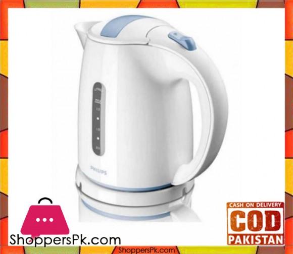 Philips Kettle - HD4646/70 - 1.5L - White - Karachi Only