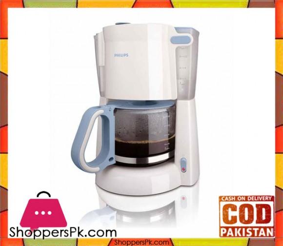 Philips Coffee Maker - HD7448/70 - White - Karachi Only