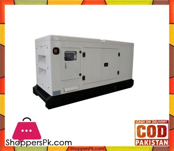 Perkins Engine - Diesel Generator Soundproof Canopy - 45KVA / 35KW - White - Karachi Only