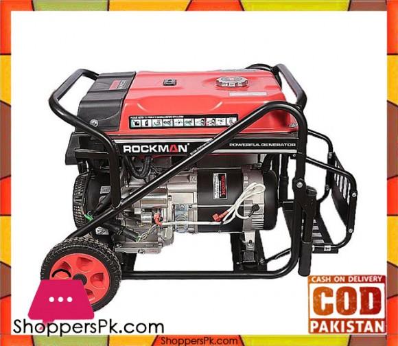 Rockman RC8000ES - Generator - 7500watts - Black & Red - Karachi Only