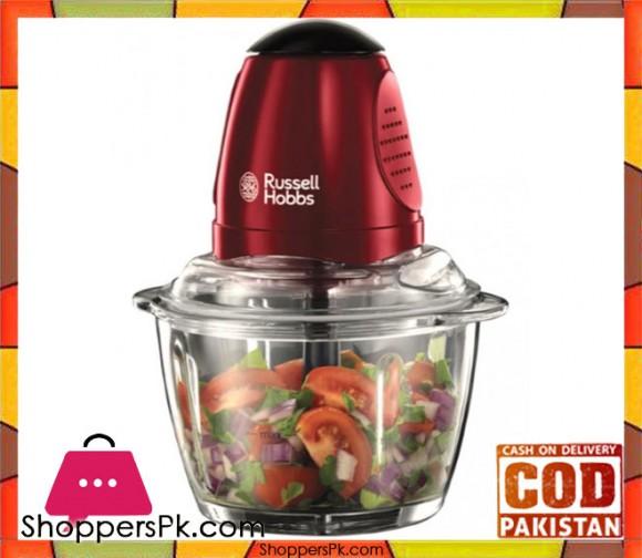 Russell Hobbs 20320-56 Desire Mini Chopper- Red - Karachi Only