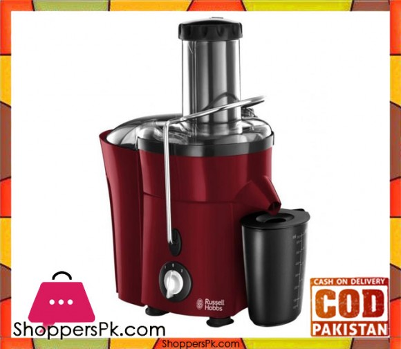 Russell Hobbs Desire Juice Extractor - Red - Karachi Only