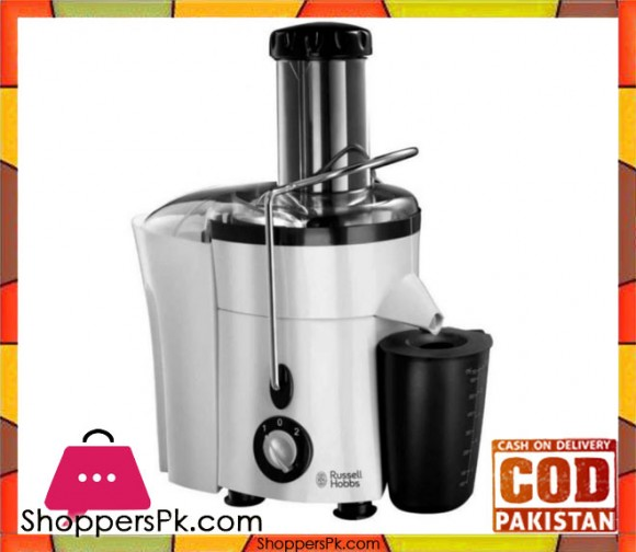 Russell Hobbs Aura Juice Extractor - White - Karachi Only