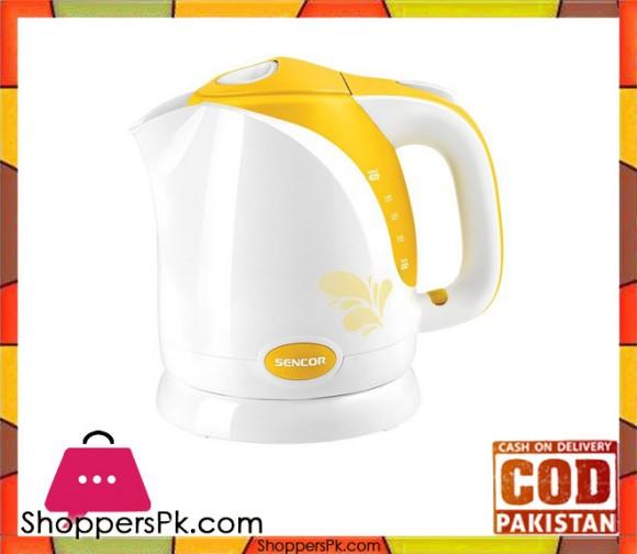 Sencor SWK 1506YL - Electric Kettle - Yellow - Karachi Only