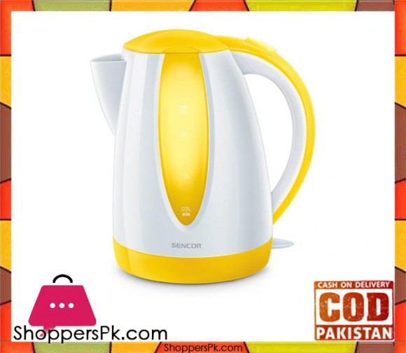Sencor SWK1816YL - Electric Kettle - Yellow - Karachi Only