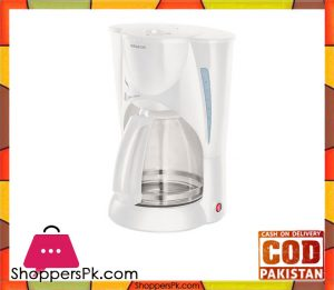 Sencor SCE 5000WH - Coffee Maker - White (Brand Warranty)