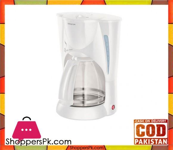 Sencor SCE 5000WH - Coffee Maker - White (Brand Warranty) - Karachi Only
