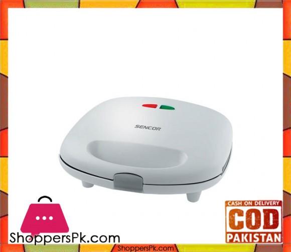 Sencor SSM 9300 - Sandwich / Grill / Waffle Maker 3 in 1 - White - Karachi Only