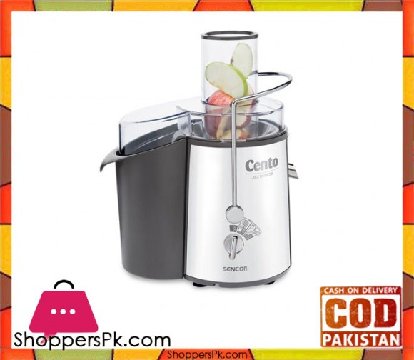 Sencor SJE 1007WH - Juicer - Stainless Steel - Karachi Only