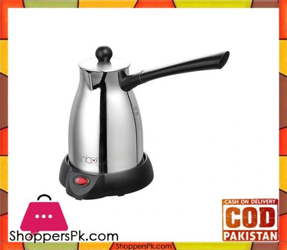 Sinbo SCM-2922 - Electric Coffee Maker Pot Machine - Silver & Black - Karachi Only