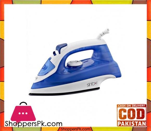 Sinbo SSI-2897 - Dry / Spray / Steam / Burst steam Iron - Blue - Karachi Only