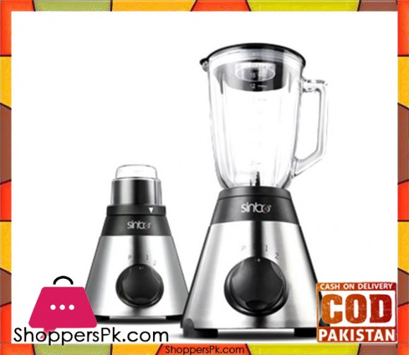 Sinbo SHB-3053 - Turbo Blender - Silver & Black - Karachi Only