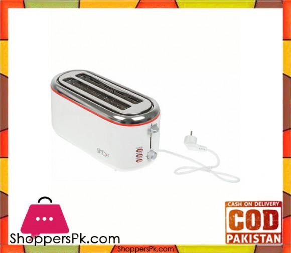 Sinbo ST-2421 - Bread Toaster - White - Karachi Only
