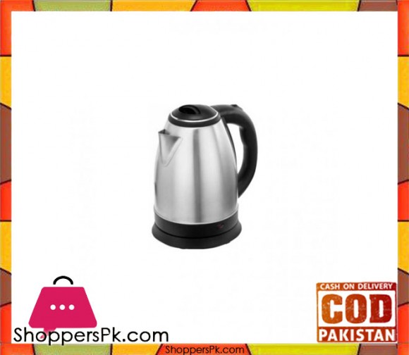 Sinbo SK-7320 - Deluxe Steel Tea Electric Kettle - Black & Silver - Karachi Only