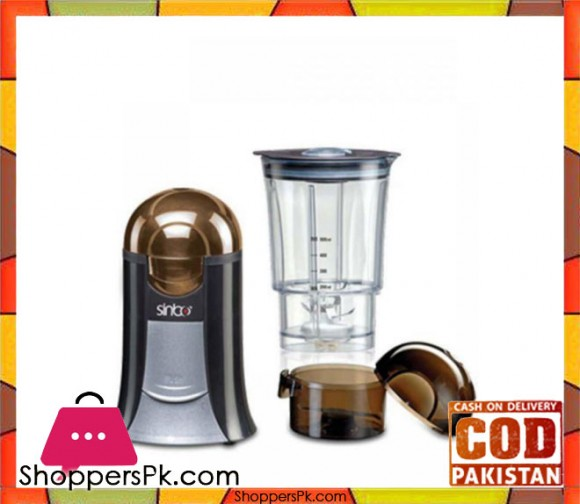 Sinbo SCM 2914 - Coffee Grinder - Brown & Black - Karachi Only