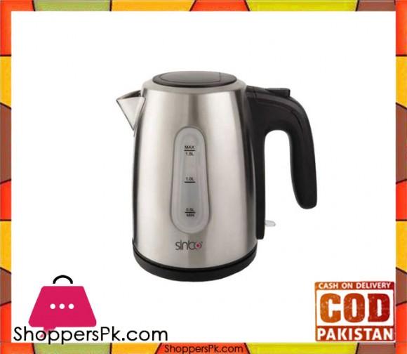 Sinbo SK-7332 - Electric Steel Tea Kettle - 2200 W - 1.5 L - Silver - Karachi Only