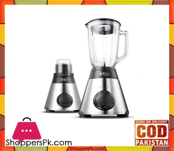 Sinbo Blender - SHB-3053 - Black & Silver - Karachi Only