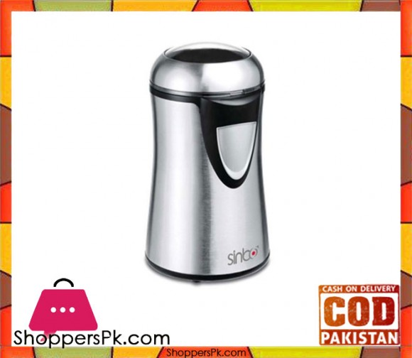 Sinbo SCM-2929 - Coffee Grinder - Silver - Karachi Only