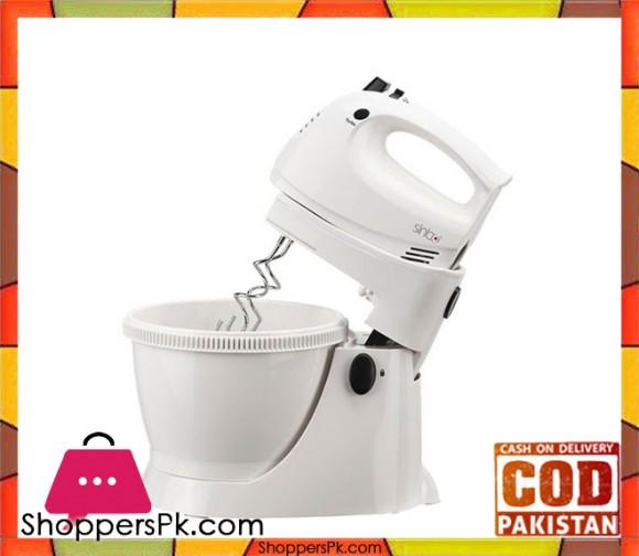 Sinbo Mixer & Food Processor - SMX - 2737 - White - Karachi Only