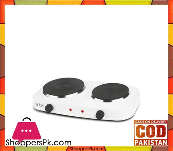 Sinbo SCO-5031 - Hot Plate - White - Karachi Only
