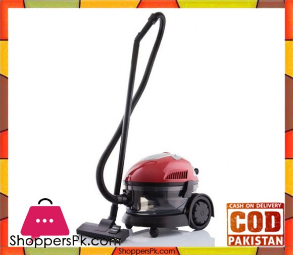 Sinbo SVC-3466 - Wet & Dry Vacuum Cleaner - Black & Red - Karachi Only