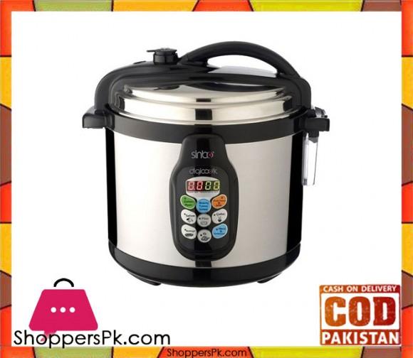 Sinbo SC0-5005 - Electric Digital Pressure Cooker - Black - Karachi Only