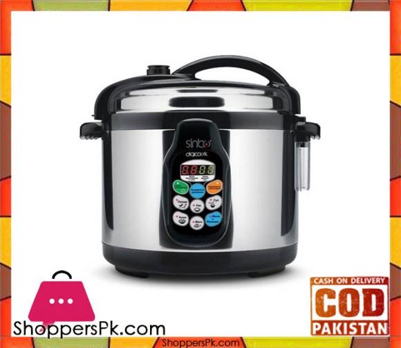 Sinbo SC0-5006 - Electric Digital Multi Pressure Cooker - Black - Karachi Only