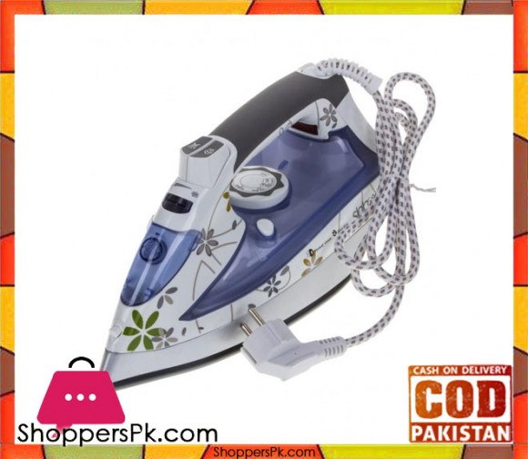 Sinbo SSI-2864 - Steam Iron - White & Light Blue - Karachi Only