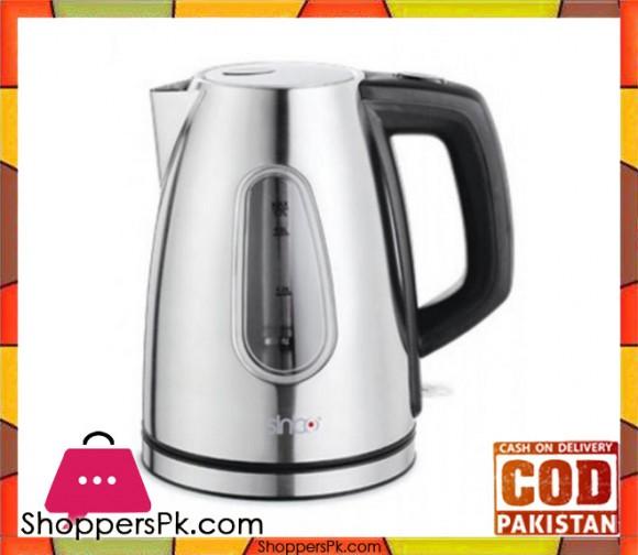 Sinbo SK 7310 - Metal Cordless Kettle - Grey - Karachi Only
