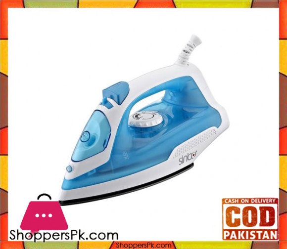 Sinbo SS-2895 - Dry / Spray / Steam Iron - White & Blue - Karachi Only