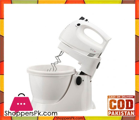 Sinbo Stand Mixer & Food Processor - SMX - 2737 - White - Karachi Only