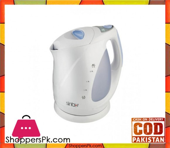 Sinbo Electric Kettle -SK-2357 - White - Karachi Only