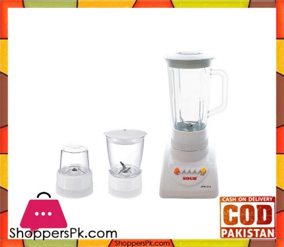 Sogo JPN-510 - Juicer Blender - White - Karachi Only