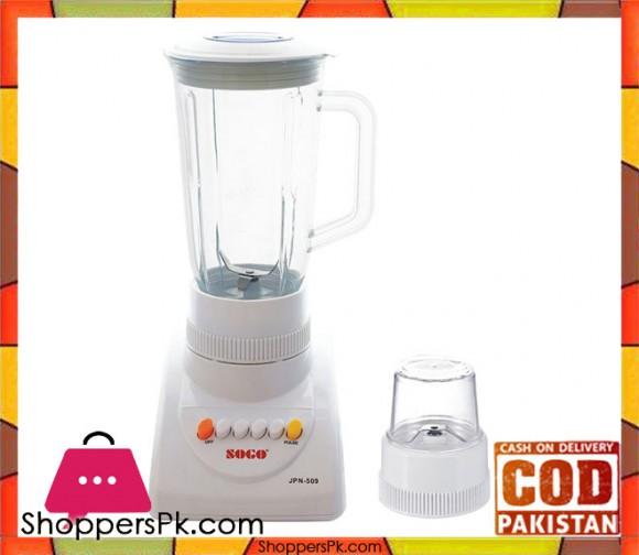 Sogo 2 in 1 Blender & Mill - White - Karachi Only