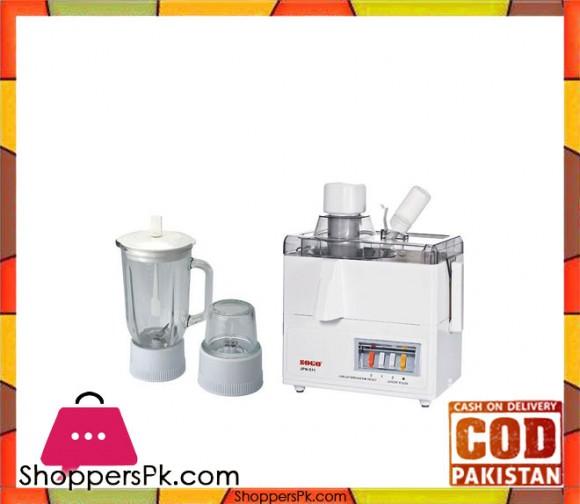 Sogo JPN-511 - Juicer - Blender - Grinder - White - Karachi Only