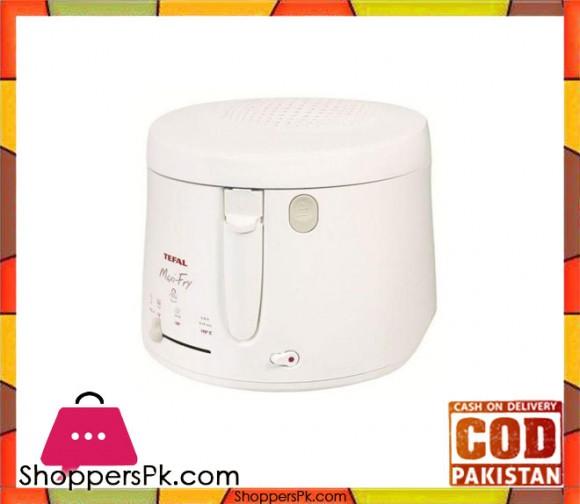 Tefal White Fryer Maxi Fry (1.2KG) (FF100032) (Brand Warranty) - Karachi Only