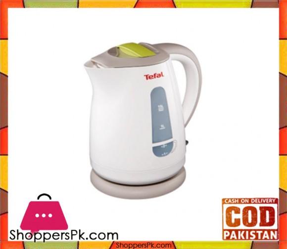 Tefal Electric Kettle - 1.5L - White - Karachi Only