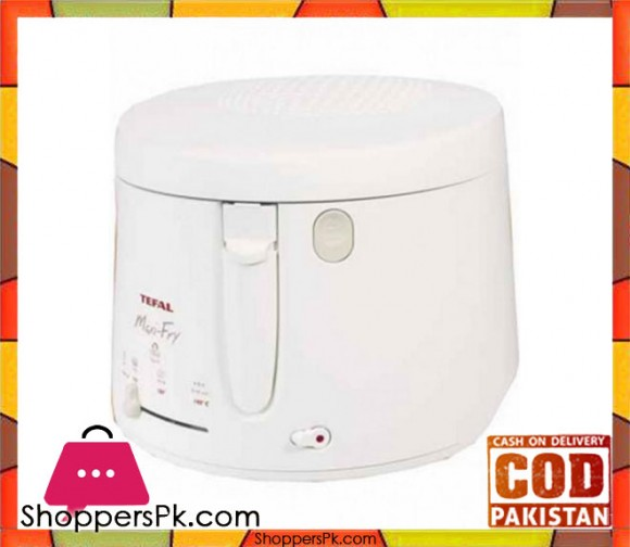 Tefal Maxi Fryer - 2.2 L - White - Karachi Only