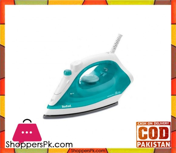 Tefal FV1310 - Steam Iron Virtuo - 1400W - Green - Karachi Only