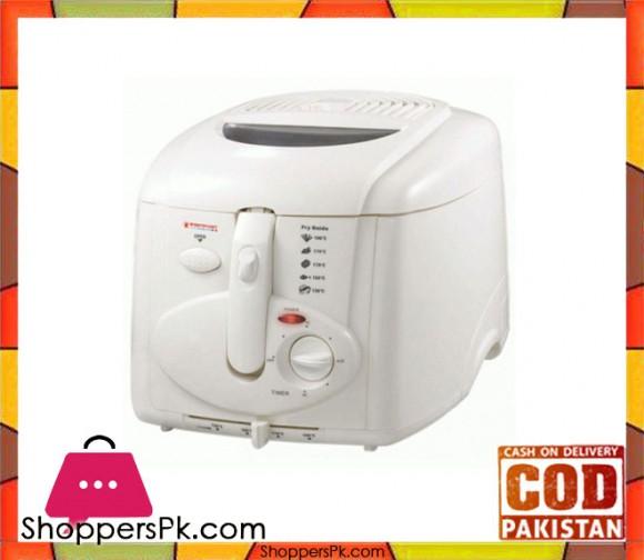Westpoint WF-5234 - Electric Deep Fryer - White - Karachi Only