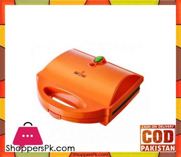 Westpoint WF-615 - 2 Slice Sandwich Maker - Orange (Brand Warranty) - Karachi Only